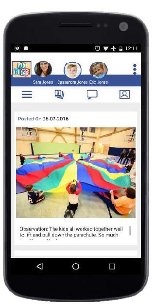 LifeCubby Mobile App